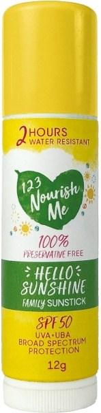 123 Nourish Me Hello Sunshine Facestick 12g