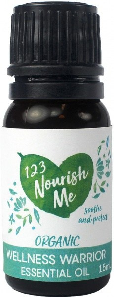 123 Nourish Me Wellness Warrior Essential Oil 15g