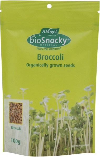 A.Vogel BioSnacky Broccoli Sprouting Seeds 100g