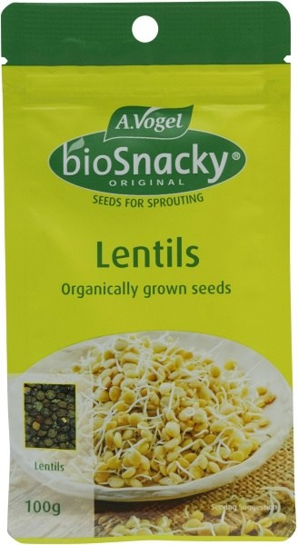 A.Vogel BioSnacky Lentil Sprouting Seeds 100g