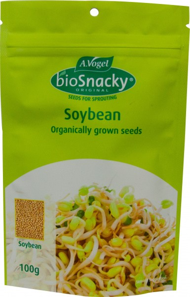 A. Vogel BioSnacky Organically Grown Soybeans Sprouting Seeds 100g