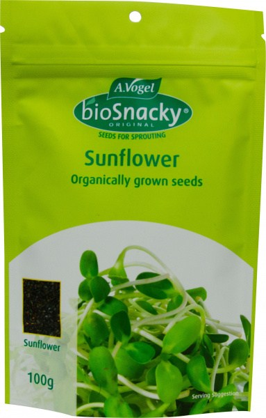 A. Vogel BioSnacky Organically Grown Sunflower Sprouting Seeds 100g