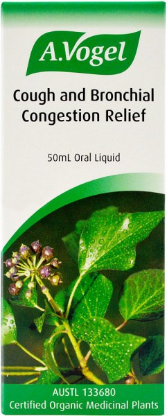 A.Vogel Cough & Bronchial Conjestion Relief 50ml