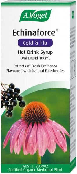 A.Vogel Echinaforce Cold & Flu Hot Drink Syrup 100ml