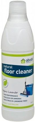 Abode Floor Cleaner Organic Lavender 800ml pour cap