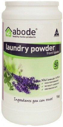 Abode Front & Top Loader Lavendar & Mint Laundry Powder 1kg