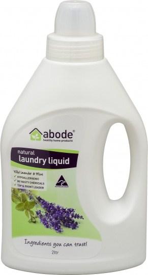 Abode Laundry Liquid Lavender & Mint 2L