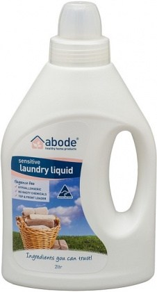 Abode Laundry Liquid ZERO Fragrance Free 2L