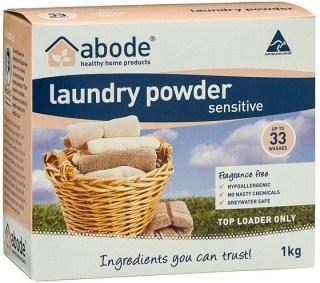 Abode Laundry Powder Sensitive Fragrance Free Top Loader 1Kg