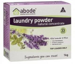 Abode Laundry Powder Wild Lavender & Mint Top Loader 1Kg
