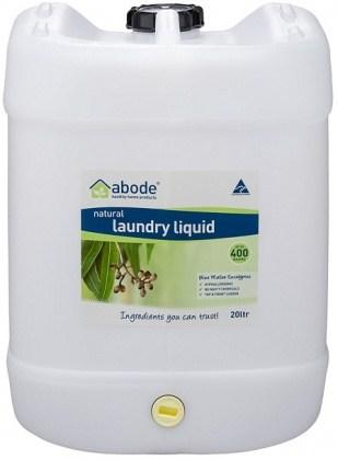 Abode Natural Laundry Liquid Blue Mallee Eucalyptus 20L