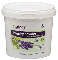 Abode Top Loader Lavender & Mint Laundry Powder 5kg