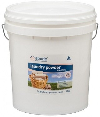 Abode Top Loader Sensitive Fragrance Free Laundry Powder 15kg