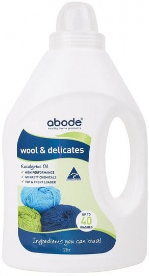 Abode Wool & Delicates Eucalyptus Wash 2L