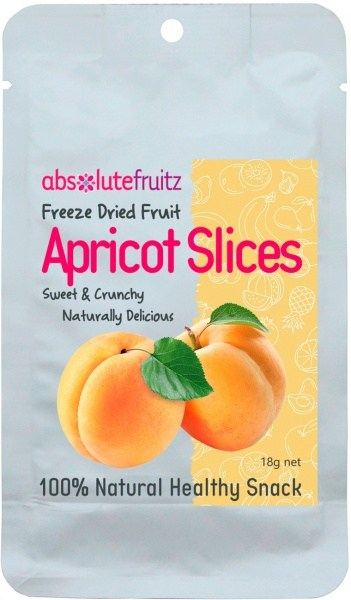 Absolute Fruitz Freeze Dried Apricot 18g
