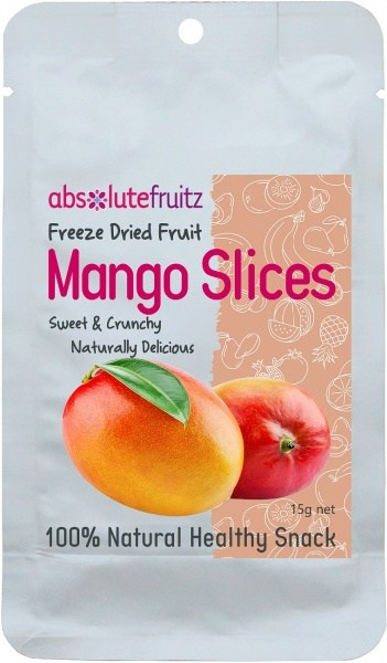 Absolute Fruitz Freeze Dried Mango 15g