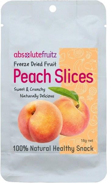Absolute Fruitz Freeze Dried Peach 18g