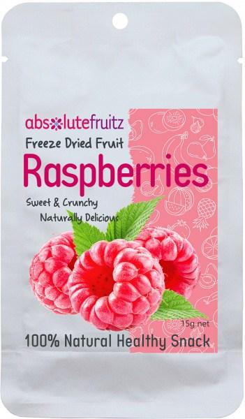 Absolute Fruitz Freeze Dried Rasberry 15g