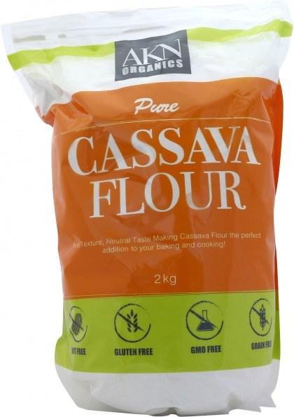 AKN Organics Pure Cassava Flour  2Kg