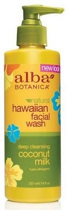 Alba Hawaiian Coconut Milk Facial Wash 230ml