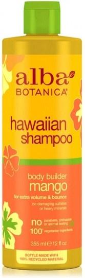 Alba Hawaiian Hair Shampoo Body Builder Mango 355mL