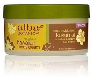 Alba Hawaiian Kukui Nut Body Cream 184g