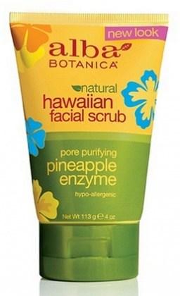 Alba Hawaiian Pineapple Enzyme Facial Scrub 118ml