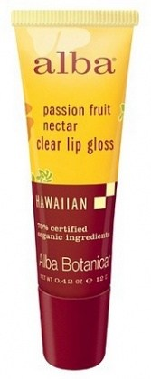 Alba Natural Hawaiian Lip Gloss Renewing Passion Fruit Nectar 12g