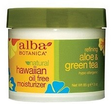 Alba Natural Hawaiian Oil Free Moisturizer Refining Aloe & Green Tea 85g