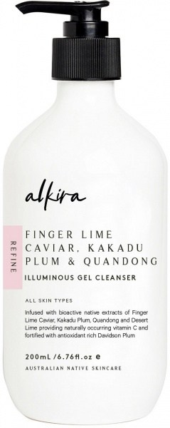 Alkira Illuminous Gel Cleanser 200ml