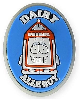 AllerMates Dairy Allergy Charm