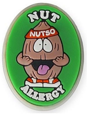 AllerMates Nut Allergy Charm