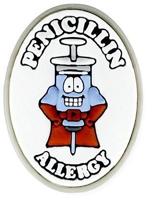AllerMates Penicillin Allergy Charm
