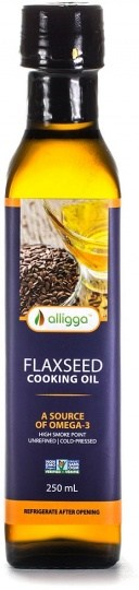 Alligga Hi Heat Flaxseed Cooking Oil 250ml