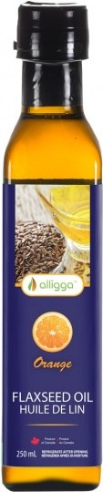 Alligga Organic Flaxseed Oil Orange  250ml