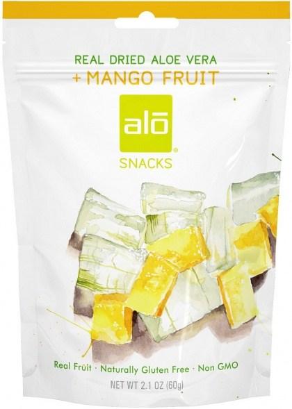 Alo Snacks Dried Aloe Vera & Mango  60g