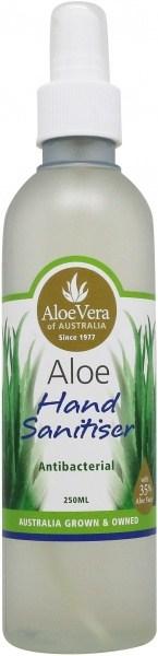Aloe Vera Aloe Hand Sanitiser 250mL