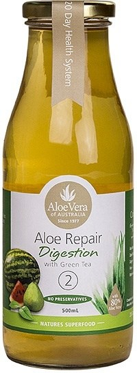 Aloe Vera Aloe Repair Digestion with Green Tea 500ml