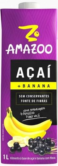Amazoo Acai Smoothie Banana 1L