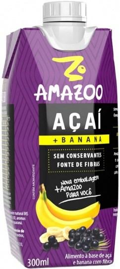 Amazoo Acai Smoothie Banana 300ml