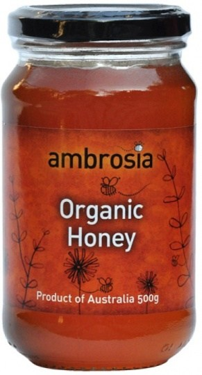 Ambrosia Organic Honey  500g
