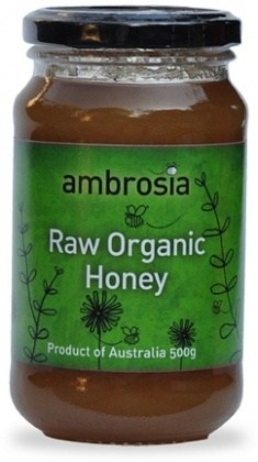 Ambrosia Organic Honey Raw 500g