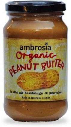 Ambrosia Organic Peanut Butter 375gm