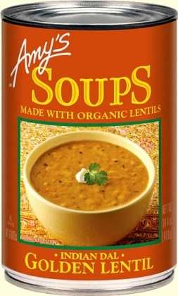 Amys Organic Can Golden Lentil Soup 400g