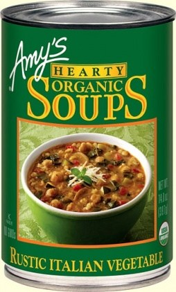 Amys Organic Can Hearty Rustic Italian Vegetable Soup 400g