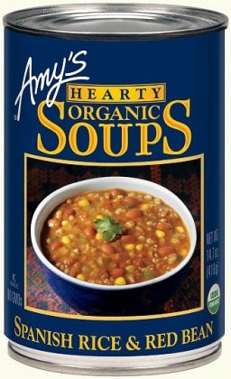 Amys Organic Can Rice & Red Bean Soup 400g