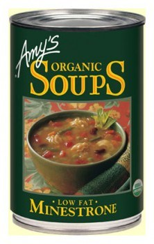Amys Organic Canned Minestrone Soup 400g