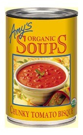 Amys Organic Chunky Tomato Bisque 411gm