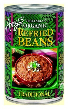 Amys Organic Refried Beans Traditional  437gm