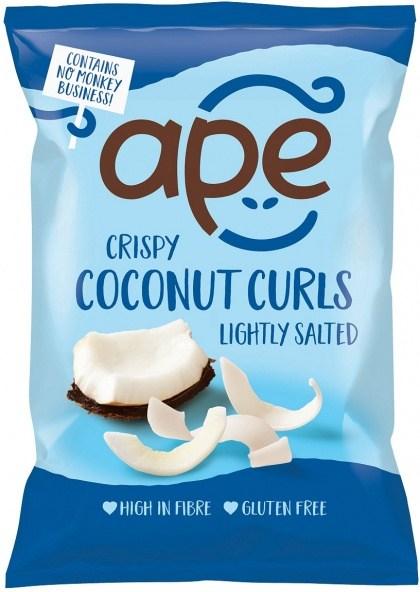 Ape Snacks Crispy Coconut Curls Lightly Salted 20g
